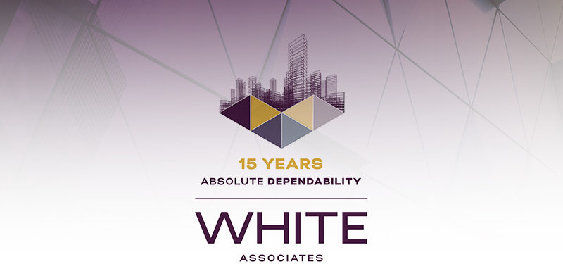 White Associates Anniversary Logo